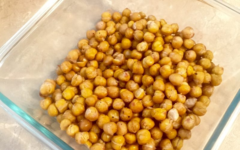 Salt & vinegar chickpeas – Bet you just can't have one